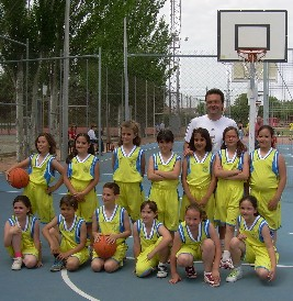 Nuestro equipo de baloncesto